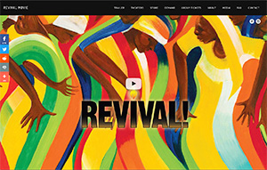 Picture of Revival! website.