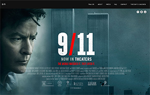 Picture of 9/11 website.