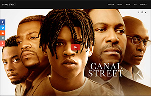 Picture of Canal Street website.