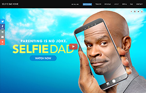 Picture of Selfie Dad website.